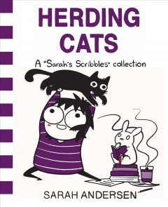 "Herding cats : a ""Sarah's scribbles"" collection book cover"