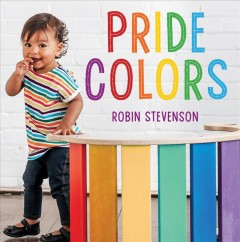 Pride colors book cover