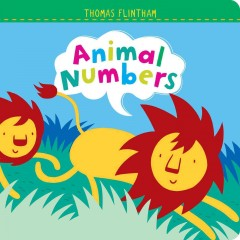 Animal numbers book cover