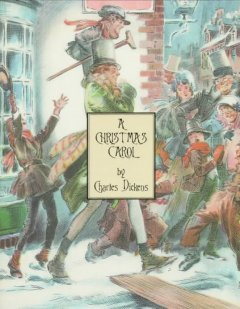 A Christmas carol : in prose, being a ghost story of Christmas book cover
