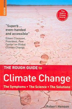 The rough guide to climate change book cover