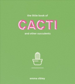 The little book of cacti and other succulents book cover