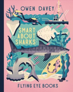 Smart about sharks book cover