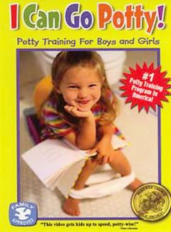 I can go potty! : potty training for boys and girls book cover