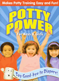 Potty power for boys & girls. book cover