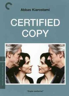 Certified copy book cover