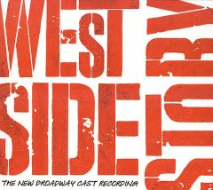West Side story : the new Broadway cast recording book cover