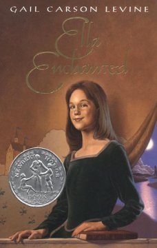 Ella enchanted book cover
