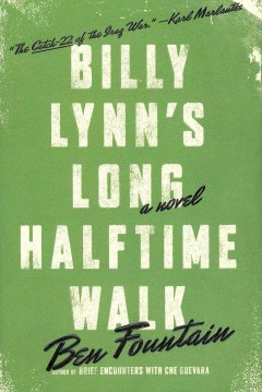 Billy Lynn's long halftime walk book cover