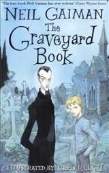 The Graveyard Book. book cover