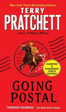Going postal : a novel of Discworld book cover