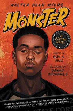 Monster : a graphic novel book cover