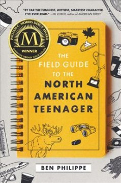 The field guide to the North American teenager book cover