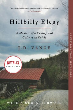 Hillbilly elegy : a memoir of a family and culture in crisis book cover