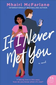 If I never met you : a novel book cover