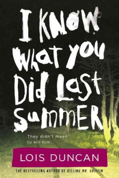 I know what you did last summer book cover