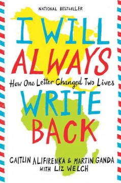 I will always write back : how one letter changed two lives book cover