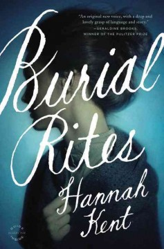 Burial rites : a novel book cover