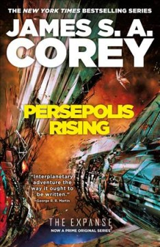 Persepolis rising book cover