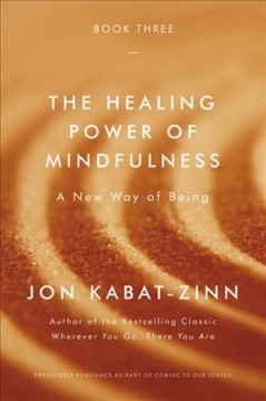 The healing power of mindfulness : a new way of being book cover