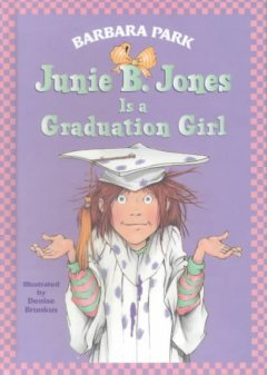 Junie B. Jones is a graduation girl book cover