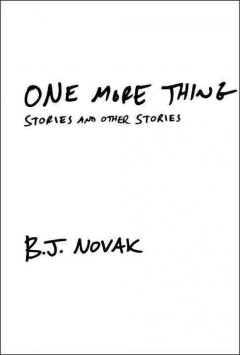 One more thing : stories and other stories book cover