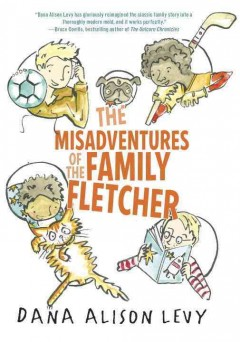 The misadventures of the family Fletcher book cover