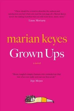 Grown ups book cover