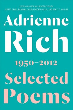 Selected poems, 1950-2012 book cover