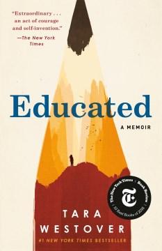 Educated : a memoir book cover