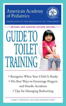 American Academy of Pediatrics guide to toilet training book cover