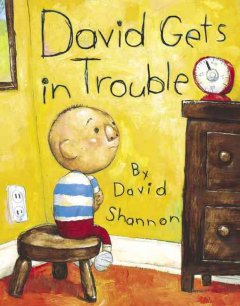 David gets in trouble book cover