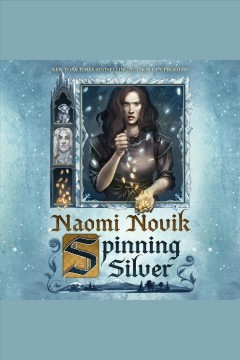 Spinning silver book cover