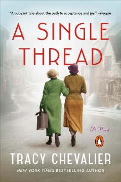 A single thread book cover
