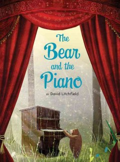 The bear and the piano book cover