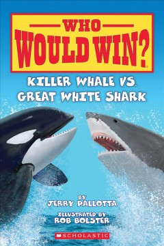Killer whale vs. great white shark book cover