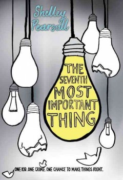 The seventh most important thing book cover