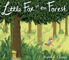 Little fox in the forest book cover