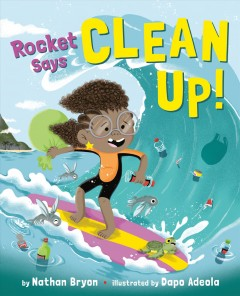 Rocket says clean up! book cover