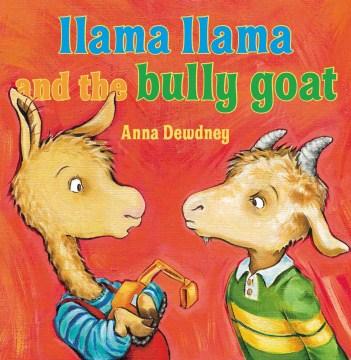 Llama Llama and the bully goat book cover