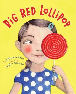 Big red lollipop book cover