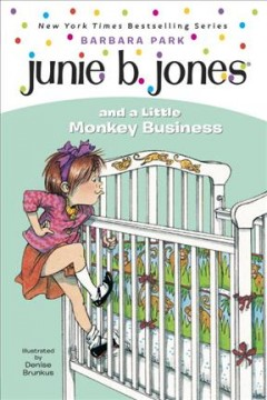 Junie B. Jones and a little monkey business book cover