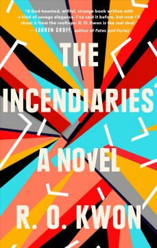The incendiaries book cover