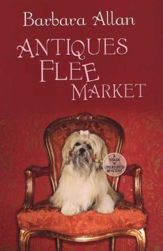 Antiques flee market : a trash 'n' treasures mystery book cover