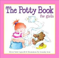The potty book for girls book cover