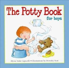 The potty book for boys book cover