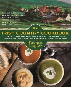 An Irish country cookbook book cover