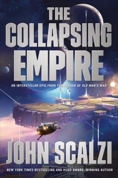 The collapsing empire book cover