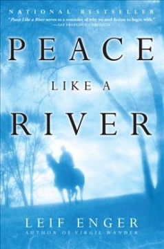 Peace like a river book cover