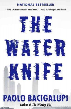 The water knife book cover